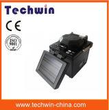 Encoladora óptica visual de la fusión de fibra del localizador del incidente de Techwin Tcw605