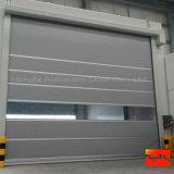 Guichet de glissement en aluminium avec la porte d'obturateur de rouleau