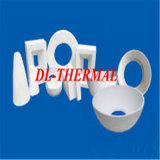 Tejido soluble en agua refractario aislamiento de fibra de cerámica de papel HD1350