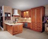 Armoires de cuisine en bois massif en érable Design Cabinet de cuisine américain traditionnel