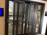 6061 oder 6063 schiebendes Aluminiumwindows u. Türen