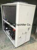 L'aria industriale ha raffreddato il refrigeratore, refrigeratore di acqua raffreddato aria, il tipo refrigeratore del rotolo del compressore