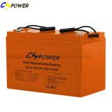 Batterie exempte d'entretien de gel de batterie de la batterie 12V 55ah de Cspower
