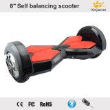 8inch équilibrant le scooter électrique avec Bluetooth et l'éclairage LED