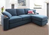 Sofà classico del blocco per grafici di legno del salone del sofà del tessuto (HX-SL010)