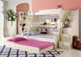 Base de cucheta coreana de madera sólida del estilo para los muebles del dormitorio de los niños (9001)