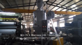Polycarbonat bereifte feste Blatt-Strangpresßling-Zeile Strangpresßling-Maschinerie