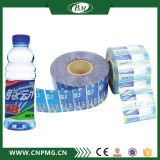 Étiquette en plastique de rétrécissement de bouteille de PVC de vente chaude faite sur commande
