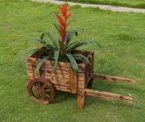 Eindeutiger Entwurf drücken den Pflanzer von Hand ein, der für Garten-Dekoration verwendet wird