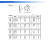 Ecrou mince hexagonal haute qualité avec fil interne DIN936