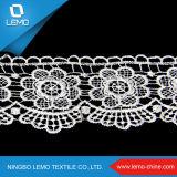 Tissus africains de lacet de Lemo, tissu de robe de lacet de garniture de lacet pour des vêtements