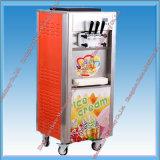 Crême glacée d'acier inoxydable faisant la machine