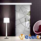 Sistemi di inferriata di vetro interni commerciali di alluminio