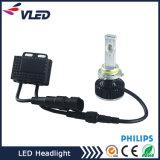 가장 새로운 유일한 렌즈 H1 H7 H8 H11 9005 Hb3 9006 Hb4를 가진 소형 차 LED 헤드라이트 전구