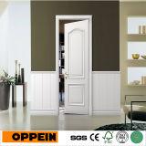 Дверь Singel самомоднейшего белого деревянного Veneer Oppein нутряная (MSPD64)