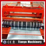 コイルのための長さへのフルオートマチックの切口が付いているライン機械を切り開くこと