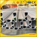 le fini du moulin 6063-T5 a expulsé profil en aluminium industriel de construction