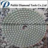 Пусковая площадка сухой смолаы пола Concret полируя для точильщика угла