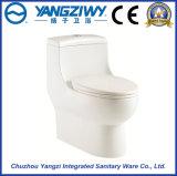Cuvette de toilette d'une seule pièce de gicleur de Siphonic