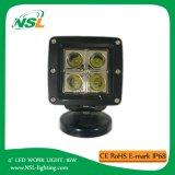 "4 "" 16W E-MARK LED 일 빛, 방수 Offroad 모는 빛, ATV 의 트럭, 지프 차 부속품"