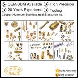 Peças de trabalho feito com ferramentas de Customizedauto Meteal 20 da fábrica anos de ferro da experiência, cobre, alumínio, aço inoxidável, bronze