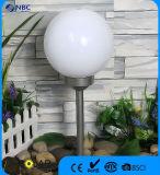 شمسيّة يزوّد وتد ضوء حديقة ضوء مع 25 [كم] كرة