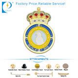 Emblema feito sob encomenda do Pin da ambulância do OEM no amarelo para o presente