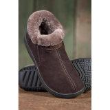 Zapatilla de piel de oveja de las mujeres zapatos de invierno de piel de oveja zapatos