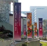 Basamento della bandiera di volo di pubblicità esterna Palo di alta qualità di promozione