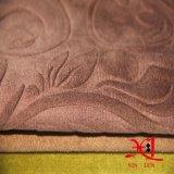 Изготовленный на заказ ткань полиэфира ткани синеля Flocking ткань для драпирования софы