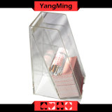8 Plattform-Acrylhändler-Halter-Kasino-PROacrylausschuss-engagierter Halter/Kasten Ym-Dh03