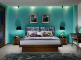 寝室の家具か現代木のブラウンカラーベッドサイド・テーブル(I&D-G10172)