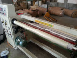 Single-Shaft Jumbo rolo fita adesiva Rebobinador