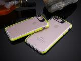 고품질 투명한 PC+TPU는 더하기 iPhone 6/7를 위한 이동할 수 있는 덮개 상자를 엷게 한다