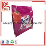 La bolsa de plástico térmica en caliente de la dimensión de una variable del escudete para el embalaje del pan