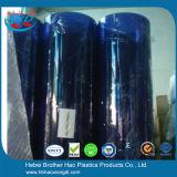 bladen van de Deur van pvc van 7mm de Dikke Milieuvriendelijke Flexibele Zachte Blauwe Duidelijke Vinyl