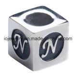 Fascini della lettera del metallo del branello dei monili di marchio incisi abitudine
