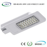 Ce RoHS Certificado High Power 30W LED Street Light