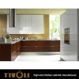 Stile europeo Tivo-0277h delle unità nere di legno della cucina