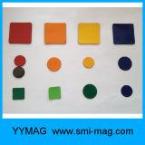Caucho Magnet Compuesto y Triángulo Forma Protección Ambiental Caucho Magnetico