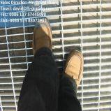 La INMERSIÓN caliente galvanizó la calzada de acero de las rejillas para las plataformas de la industria