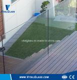 Il vetro piegato permutabile dell'acquario del camino/ha indurito il vetro modellato inciso acido