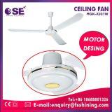 48 '' Ventilador de techo de encargo del fabricante con la luz cristalina de la lámpara (HgK-XJ01W)