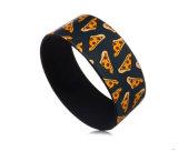 Braccialetto su ordinazione largo supplementare del silicone del Wristband