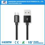 Cable de carga rápido micro del USB de los datos para el teléfono del androide de Samsung