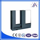 El aluminio 6063 T5 sacó los perfiles del marco de ventana