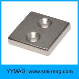 SGSは販売のためのニッケルの常置磁石のブロックのネオジムの磁石を証明した