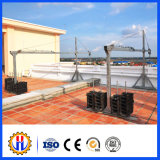 Aluguer de equipamentos de limpeza de dutos aéreos para edifícios altos