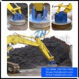 Adaptation d'excavatrice soulevant l'aimant pour le rebut en acier soulevant Emw