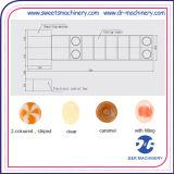 La caramella di natale modella la strumentazione di fabbricazione della caramella del fornello del microfilm
